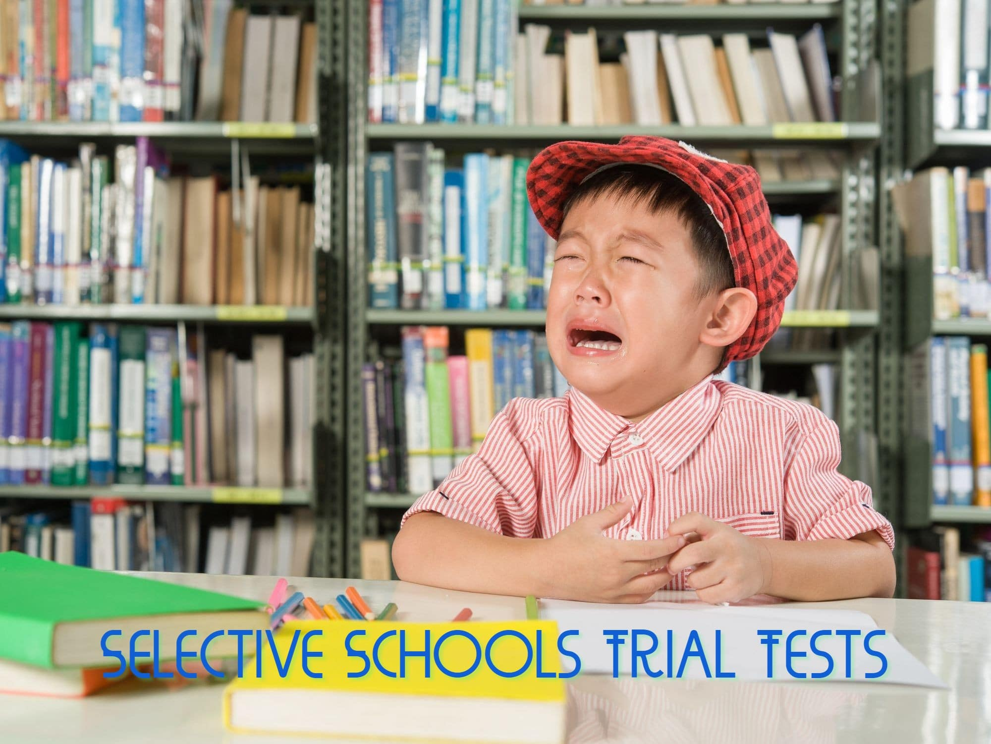 Selective high schools test trial tests